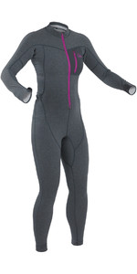 2019 Palm Womens Tsangpo Drop Seat Thermal Undersuit Jet Grey 11746
