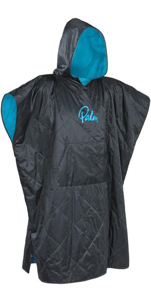 2019 Palm Weatherproof Changing Robe / Poncho Grande in Jet Grey 11783