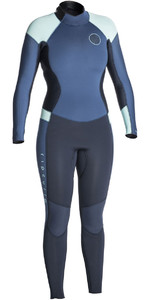 Rip Curl Womens Dawn Patrol 5/3mm Back Zip Wetsuit DARK BLUE WSM7EW
