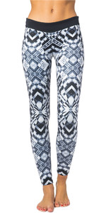 Rip Curl Womens G-Bomb 1mm SUP Neoprene Trousers BLACK / WHITE WPA6BW