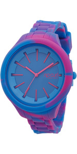 Rip Curl Womens Horizon Silicone Marbled Surf Watch BLUE A2967G