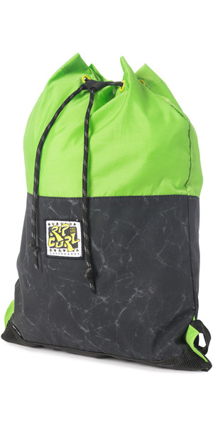 Rip Curl Lay Day Drawstring Backpack BLACK BBPIL4