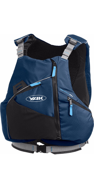 2018 Yak High Back 60N Touring Buoyancy Aid in Navy Blue 2752