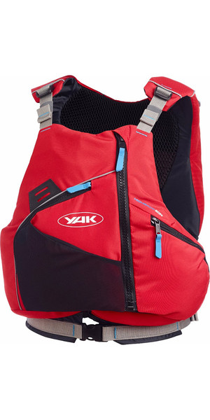 2018 Yak High Back 60N Touring Buoyancy Aid in Red 2751