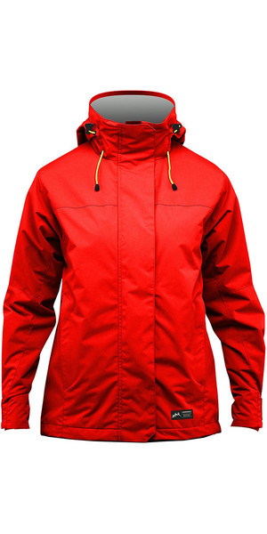 2018 Zhik Kiama Womens Harbour & Inshore Jacket Flame Red J101W