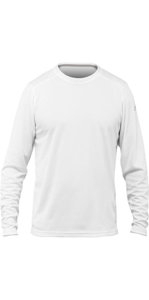2018 Zhik Long Sleeve ZhikDry LT Top WHITE TOP73
