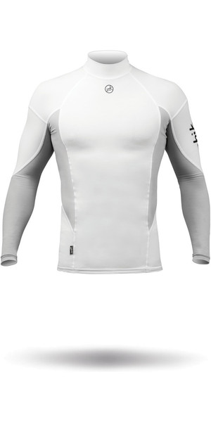 2018 Zhik Long Sleeve Spandex Top WHITE TOP61