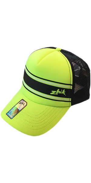 2018 Zhik Trucker Cap HiVis Yellow HAT301