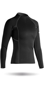 2020 Zhik Womens Hydrophobic Fleece Top Quarter Zip BLACK Top410ZW