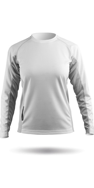 2019 Zhik Womens Long Sleeve ZhikDry Top White Top72W