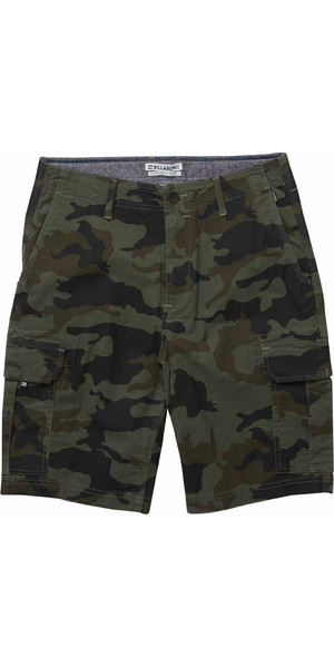 c46251d485 2018 Billabong Scheme Cargo Shorts MILITARY CAMO H1WK22 Billabong