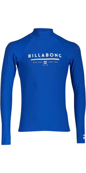 2018 Billabong Unity Long Sleeve Rash Vest NIGHT H4MY02