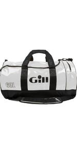 2018 Gill 60L Tarp Barrel Bag WHITE L061