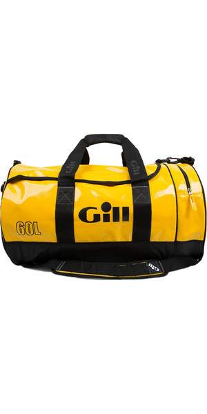 2019 Gill 60L Tarp Barrel Bag YELLOW L061