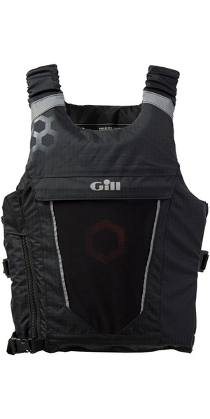 2018 Gill Race Syncro 50N Buoyancy Aid BLACK RS18
