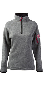 Gill Womens Knit Fleece in Silver 1491W