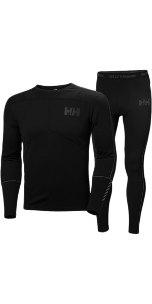 2019 Helly Hansen Lifa Active Set BLACK 48311