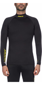 2020 Musto Championship Hydrothermal Long Sleeve Top Black SUTS002