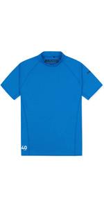 2019 Musto Mens Insignia UV Fast Dry Short Sleeve T-Shirt Brilliant Blue 80900