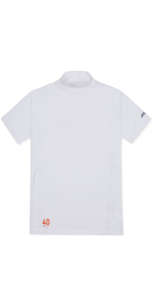2019 Musto Quick Dry Performance Short Sleeve T-shirt White SMTS022