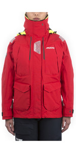 2020 Musto Womens BR2 Offshore Jacket True Red SWJK014