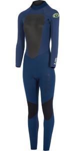Animal Womens Lava 5/4/3mm Back Zip GBS Wetsuit Dark Navy AW7WL301