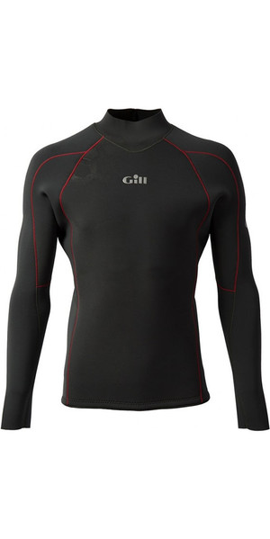 2018 Gill Race Firecell Long Sleeve Neoprene Top GRAPHITE / GREY RS17