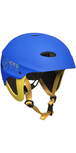 2019 Gul Evo Watersports Helmet BLUE / FLURO YELLOW AC0104-B3