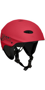 2021 Gul Evo Watersports Helmet RED AC0104-B3