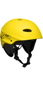 2021 Gul Evo Watersports Helmet Yellow AC0104-B3