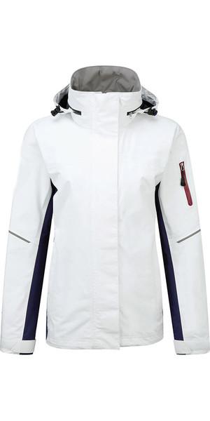 2019 Henri Lloyd Womens Sail 2.0 Inshore Coastal Jacket Optical White YO200021
