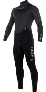 2019 Mystic Star 4/3mm GBS Back Zip Wetsuit - Black 180019