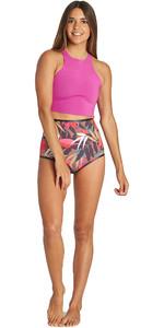 2019 Billabong Womens Hightide 1mm Neoprene Shorts Tropical Q41G03