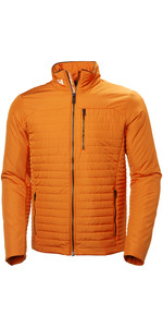 2019 Helly Hansen Crew Insulator Jacket Orange Peel 54344