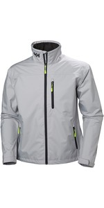 2019 Helly Hansen Crew Jacket Grey Fog 30263