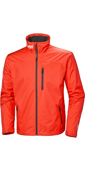 2019 Helly Hansen Mens Crew Midlayer Jacket Cherry Tomato 30253