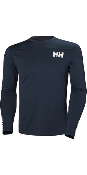 2019 Helly Hansen HH Lifa Active Light LS Baselayer Navy 49331