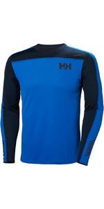 2019 Helly Hansen HH Lifa Active Light LS Baselayer Olympian Blue 49331