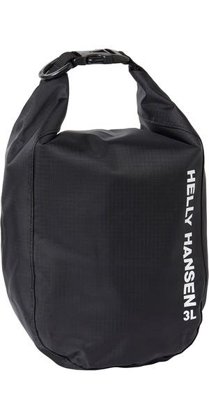 2019 Helly Hansen Light Dry Bag 3L Black 67372