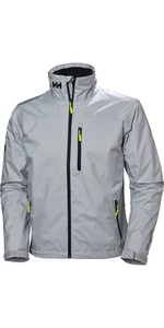 2020 Helly Hansen Mens Crew Midlayer Jacket Grey Fog 30253