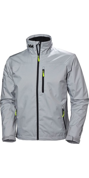 2019 Helly Hansen Mens Crew Midlayer Jacket Grey Fog 30253