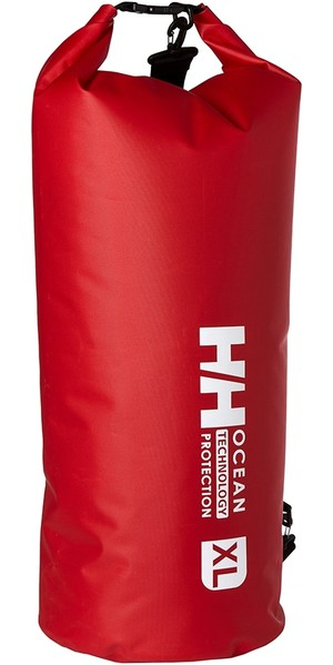 2019 Helly Hansen Ocean Dry Bag Extra Large Alert Red 67371
