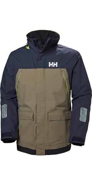 2019 Helly Hansen Pier Coastal Jacket Fallen Rock 33872