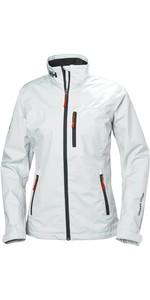 2020 Helly Hansen Womens Crew Jacket White 30297
