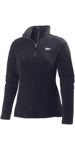 2020 Helly Hansen Womens Daybreaker 1/2 Zip Fleece Black 50845