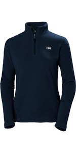 2019 Helly Hansen Womens Daybreaker 1/2 Zip Fleece Navy 50845