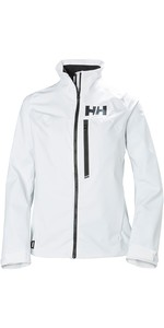 2021 Helly Hansen Womens HP Racing Jacket White 34069
