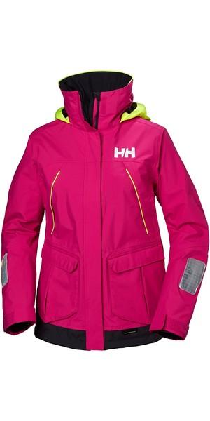 2019 Helly Hansen Womens Pier Coastal Jacket Dragon Fruit 33886