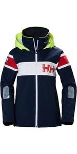 2019 Helly Hansen Womens Salt Flag Jacket Navy 33923