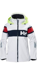 2021 Helly Hansen Womens Salt Flag Jacket White 33923